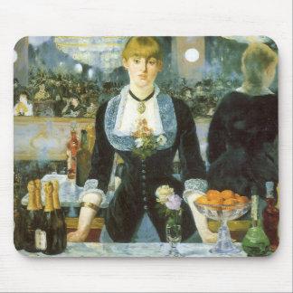 Barre chez le Folies-Bergere Manet beaux-arts Tapis De Souris