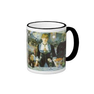 Barre chez le Folies-Bergere Manet beaux-arts Mugs