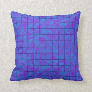 Barre de chocolat bleue/pourpre oreillers