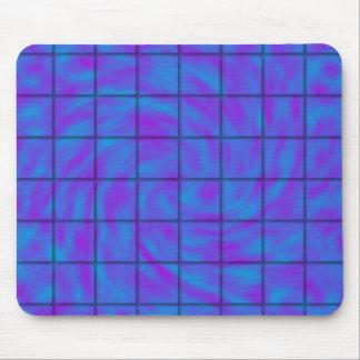 Barre de chocolat bleue/pourpre tapis de souris