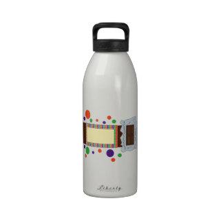 Barre de chocolat bouteilles d'eau
