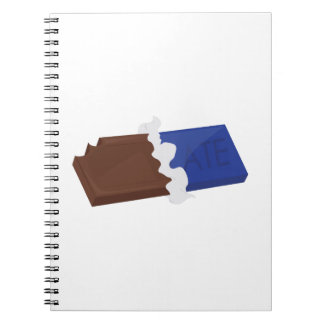 Barre de chocolat carnets