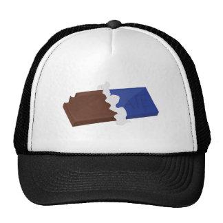 Barre de chocolat casquette