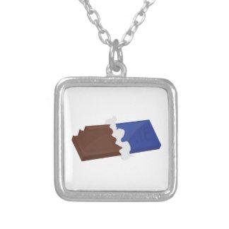Barre de chocolat collier personnalisé