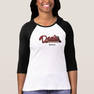 Barre de chocolat de Dan Belize Tee Shirt