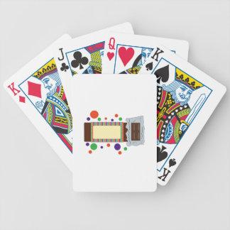 Barre de chocolat jeu de cartes
