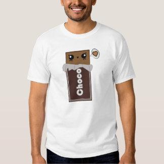 Barre de chocolat mignonne tee-shirt