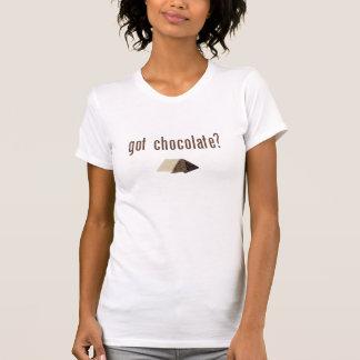 Barre de chocolat obtenue ? tee-shirts