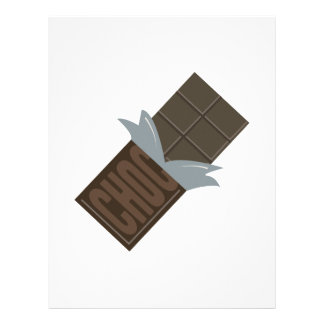 Barre de chocolat en-tête de lettre