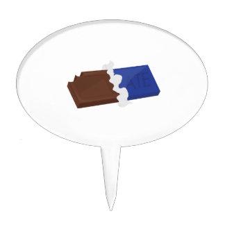 Barre de chocolat étiquettes à gâteau