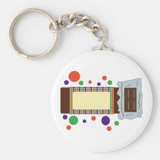 Barre de chocolat porte-clef