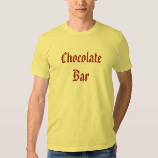 Barre de chocolat t-shirt