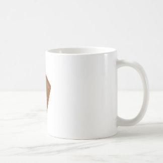 Barre de chocolat mug blanc