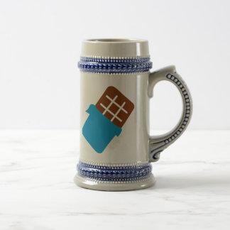 Barre de chocolat mug à café