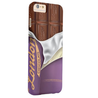 Barre de chocolat vintage none emballé coque iPhone 6 plus barely there