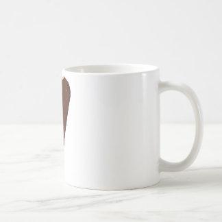 Barre de crème glacée de chocolat tasses à café