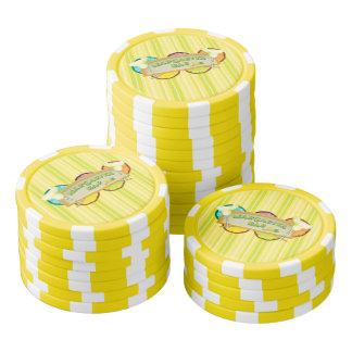 Barre de margarita lot de jeton de poker