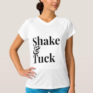 Barre shake & tuck workout shirt