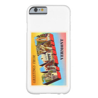 Barre Vermont VT Old Vintage Travel Souvenir Barely There iPhone 6 Case