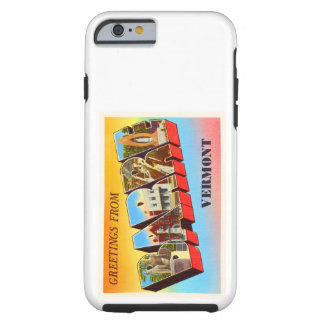 Barre Vermont VT Old Vintage Travel Souvenir Tough iPhone 6 Case