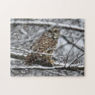 Barred Owl Jigsaw Puzzle