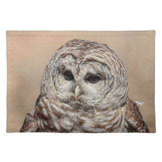Barred Owl Placemat