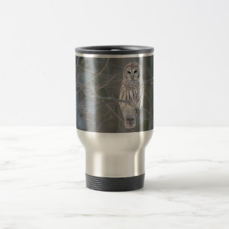 Barred Owl Strix Varia Travel Mug
