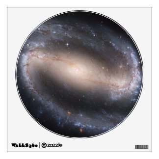 Barred Spiral Galaxy Wall Sticker