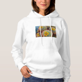 Barrel cactus close up, California Hoodie