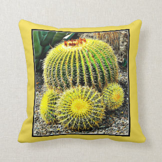 Barrel Cactus Custom Pillow