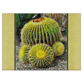Barrel Cactus Cutting Board