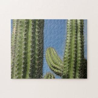 Barrel Cactus I Desert Nature Photo Jigsaw Puzzle