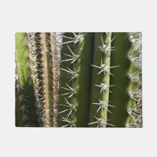 Barrel Cactus II Desert Nature Photo Doormat
