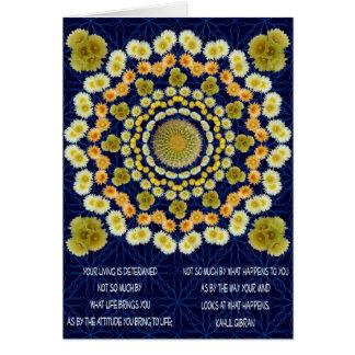Barrel Cactus Mandala 1 as Card