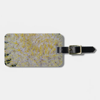 Barrel Cactus Top Luggage Tag