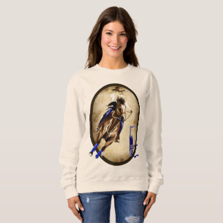 BARREL HORSE Oval Sweatshirt
