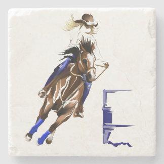 BARREL HORSE STONE COASTER