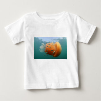 Barrel Jellyfish Swims With Mackerel Baby T-Shirt