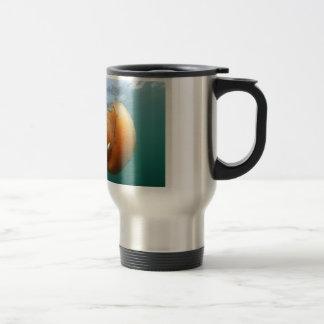 Barrel Jellyfish Swims With Mackerel Travel Mug