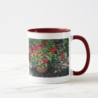 Barrel of Geraniums Mug