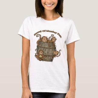 Barrel Of Monkey Fun T-Shirt