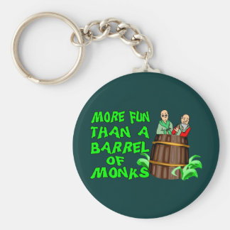 Barrel Of Monks Keychain