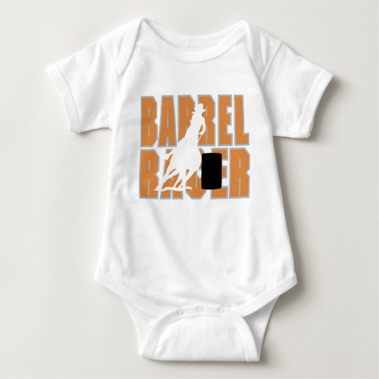 Barrel Racer Baby Bodysuit