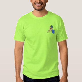 Barrel Racer Embroidered T-Shirt
