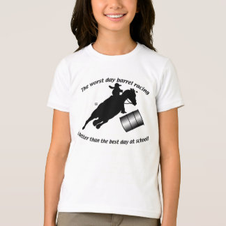 Barrel Racing - BR V School T-Shirt