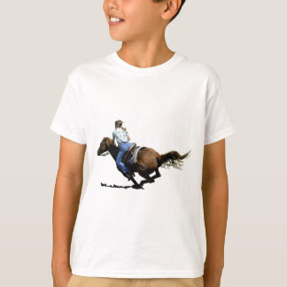 Barrel Racing, Coming In Hard T-Shirt