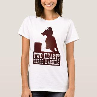 barrel racing cowgirl redneck horse T-Shirt