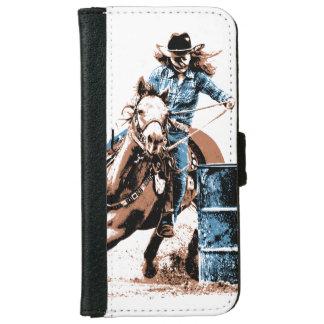 Barrel Racing iPhone 6 Wallet Case