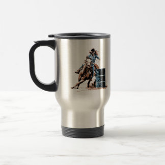 Barrel Racing Travel Mug