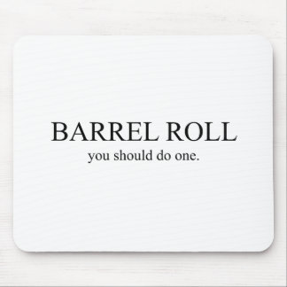 Barrel Roll 1 Mouse Pad